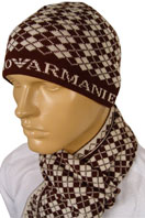 EMPORIO ARMANI Mens Hat/Scarf Set #60