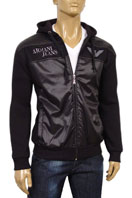 EMPORIO ARMANI Mens Zip Up Hooded Jacket #85