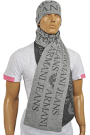ARMANI JEANS Men's Hat/Scarf Set #103