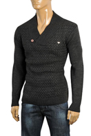 ARMANI JEANS Men's Knit Warm V-Neck Sweater #160