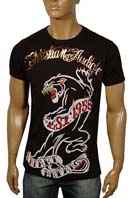 CHRISTIAN AUDIGIER Multi Print Short Sleeve Tee #21