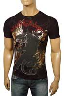 CHRISTIAN AUDIGIER Multi Print Short Sleeve Tee #63