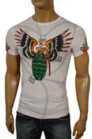 CHRISTIAN AUDIGIER Multi Print Short Sleeve Tee #65