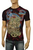 CHRISTIAN AUDIGIER Multi Print Short Sleeve Tee #66
