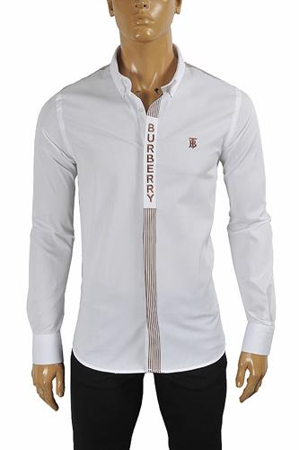 BURBERRY Men's Button-down Dress Shirt 285