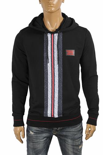 BURBERRY men's cotton hoodie in black 281