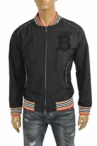 BURBERRY Men's Zip Up Jacket 53