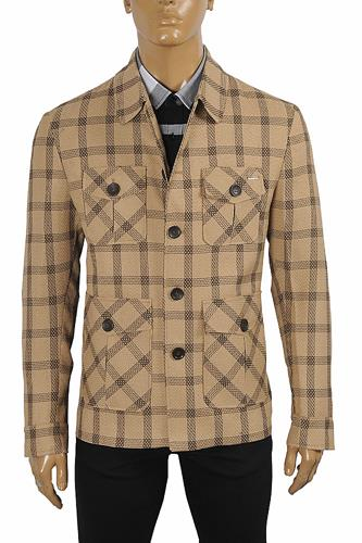 BURBERRY Men's 5-button blazer coat jacket 57