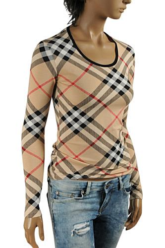 BURBERRY Women Long Sleeve Top #205