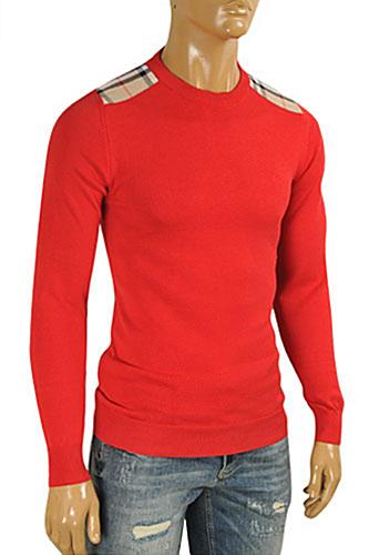 BURBERRY Men's Round Neck Knitted Sweater #222