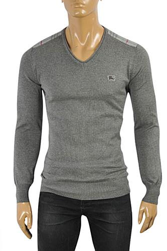 BURBERRY Men's V-Neck Sweater #232