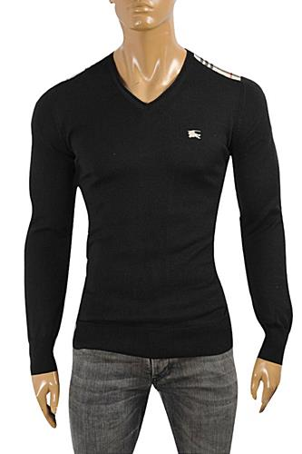 BURBERRY Men's V-Neck Sweater #233