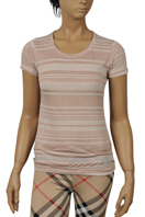 BURBERRY Ladies Short Sleeve Top #101