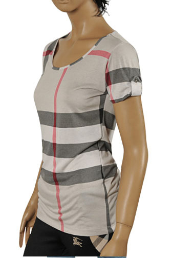 BURBERRY Ladies' Short Sleeve Top/Tunic #146