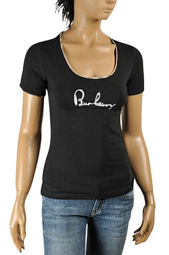 BURBERRY Ladies Short Sleeve Top #216