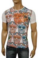 CHRISTIAN AUDIGIER Multi Print Short Sleeve Tee, #60