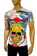 CHRISTIAN AUDIGIER Multi Print Short Sleeve Tee #86