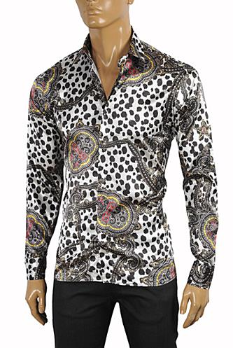 ROBERTO CAVALLI Slim Fit Men's Dress Shirt #369