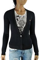 ROBERTO CAVALLI Ladies' Button Front Cardigan/Sweater #82