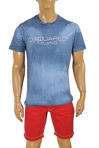DSQUARED Men's T-Shirt with front print 13