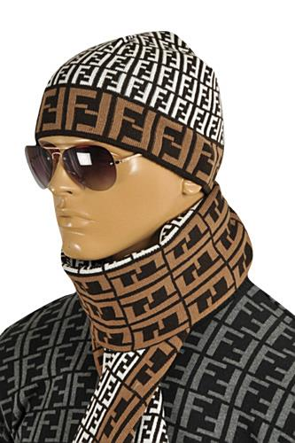 FENDI Men's Hat/Scarf Set #126