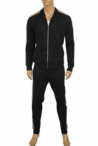 FENDI Men's Tracksuit With FF Stripes 10