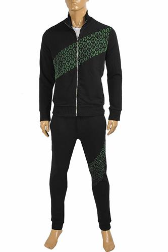 FENDI men's tracksuit in black color 5