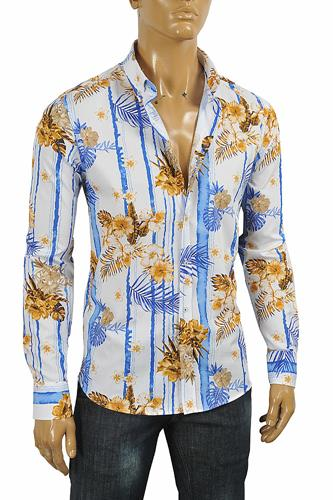 GUCCI men's Hawaiian shirt 415