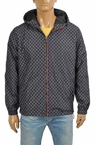 Gucci GG men's windbreaker hooded jacket 174