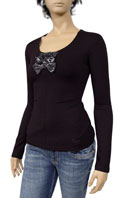 GUCCI Ladies Long Sleeve Top #126