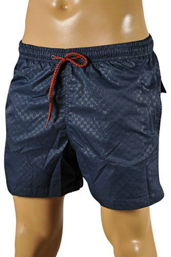 GUCCI Logo Printed Swim Shorts For Men #57