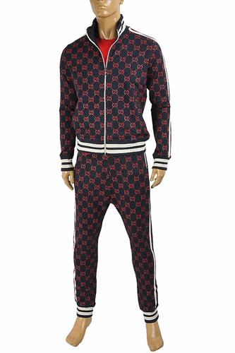 GUCCI men's zip up GG jogging suit 171