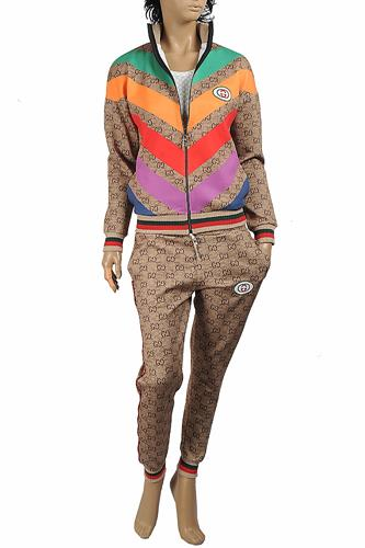 GUCCI women's GG jogging suit 175