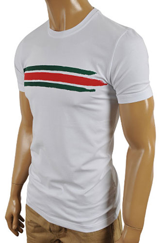 GUCCI Men's Crewneck Short Sleeve Tee #153