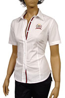 GUCCI Ladies Dress Shirt With Short Sleeve #93
