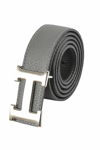 HERMES Men's Reversible Leather Belt 53