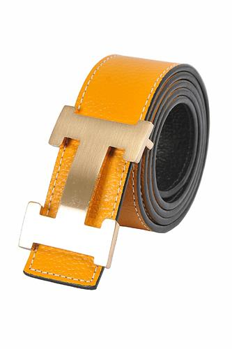 HERMES Men's Reversible Leather Belt 69