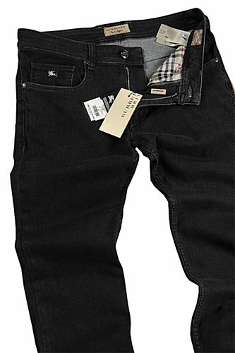 Mens Designer Clothes | BURBERRY Men's Slim Fit/Skinny Legs Jeans, In Black #14