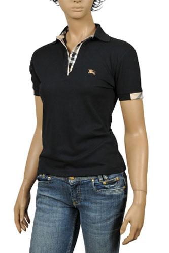 burberry polo shirts womens