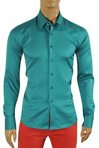 Designer Clothes | GUCCI Men's Button Up Dress Shirt #302