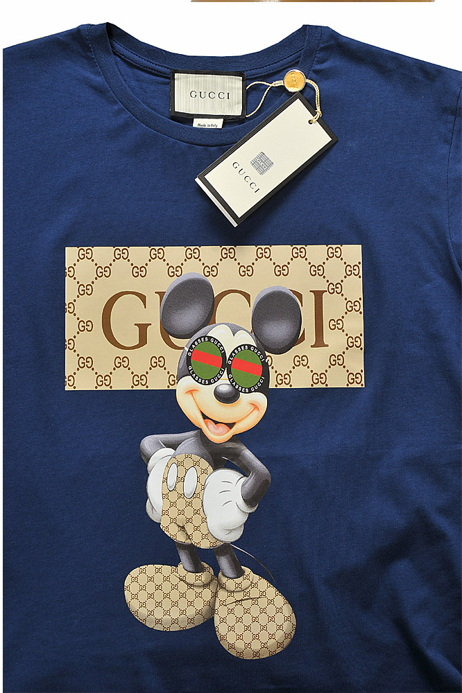 Mens Designer Clothes | GUCCI cotton T-shirt with print #237