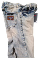 PRADA Mens White Wash Jeans #13