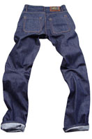 PRADA Mens Classic Jeans In Navy Blue #8