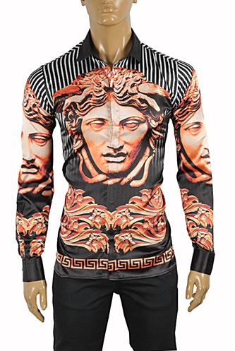 VERSACE Medusa Men's Dress Shirt 168