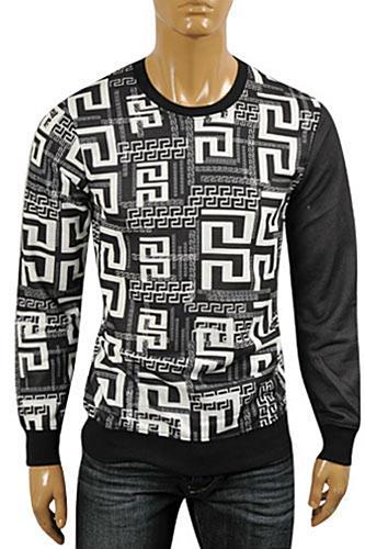 e27140dd2 Mens Designer Clothes | VERSACE Men's Round Neck Sweater #22 View 1