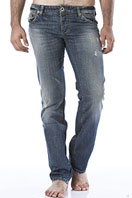 EMPORIO ARMANI Men's Normal Fit Jeans #105