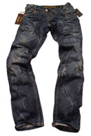 EMPORIO ARMANI Mens Crinkled Jeans #90