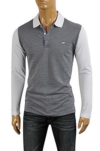 ARMANI JEANS Men's Cotton Shirt #256