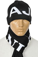 ARMANI JEANS Men's Hat/Scarf Set #83