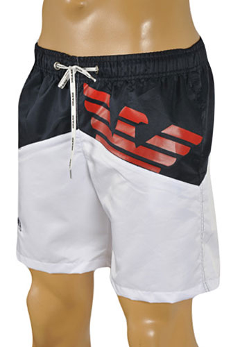 EMPORIO ARMANI Logo Printed Swim Shorts for Men #60